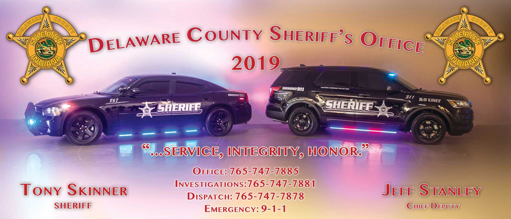 Delaware County Sheriff - Serving Delaware County, Indiana